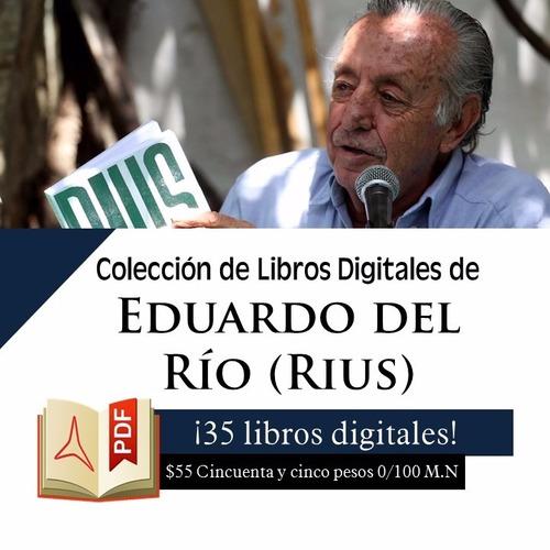 colección de libros digitales de rius