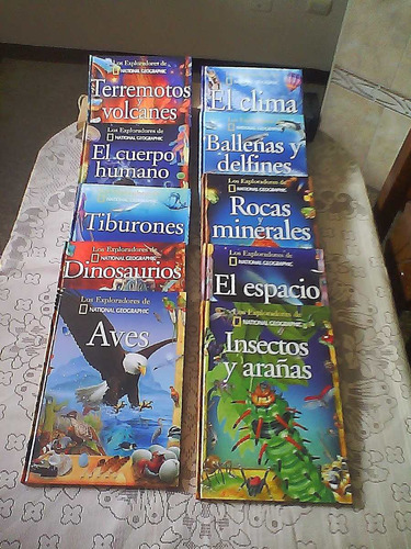 coleccion de libros  los exploradores de national geografic