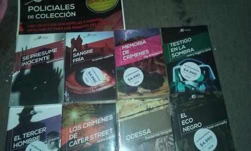 coleccion de libros policiales