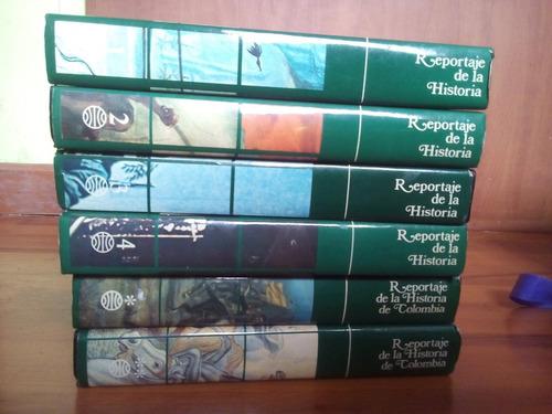 colección de libros reportaje de la historia