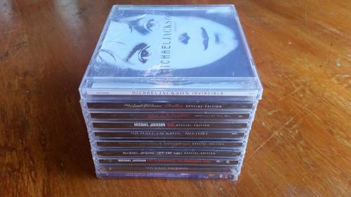 coleccion de michael jackson 100% original y nueva 11 cds