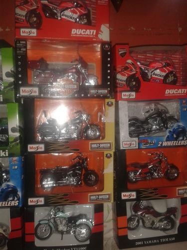 coleccion de motos escala 1.18 varios modelos