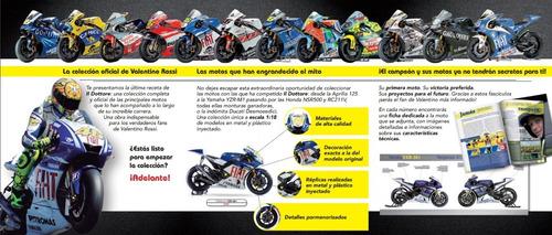 colección de motos valentino rossi  nº 20 honda vtr 1000