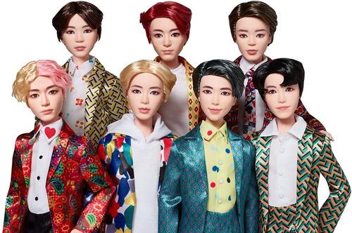 colección de muñecos bts idol pack x 7