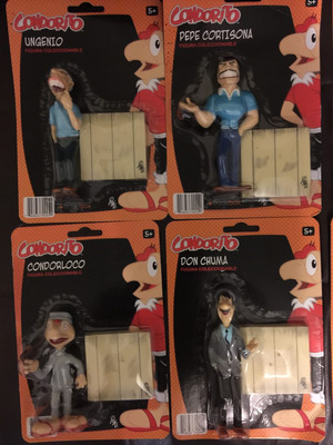 colección de muñecos condorito