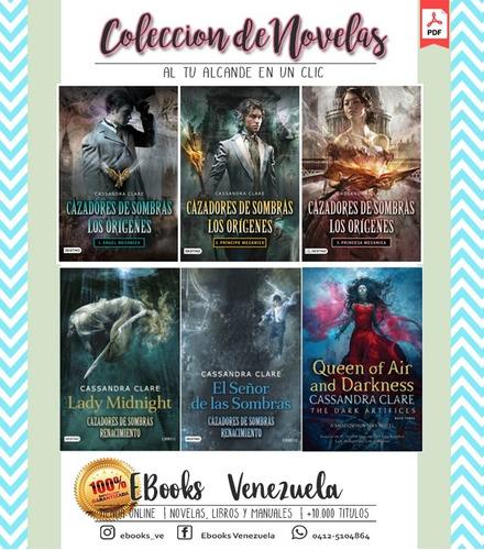 coleccion de novelas cazadores de sombras - cassandra clare