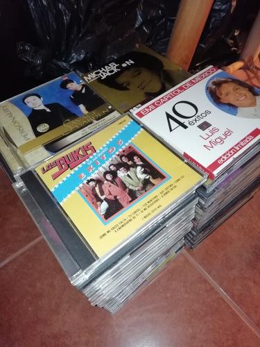 colección de ochenta cds, música, español e inglés