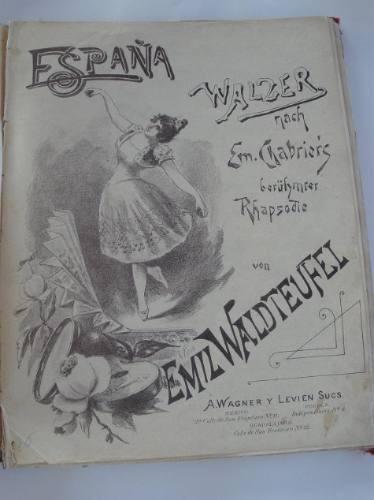 coleccion de partituras antiguas de principios del siglo xx