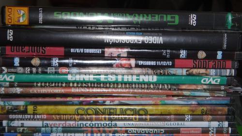 colección de películas en dvds