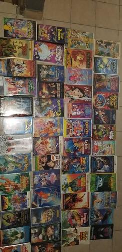 colección de películas vintage vhs disney