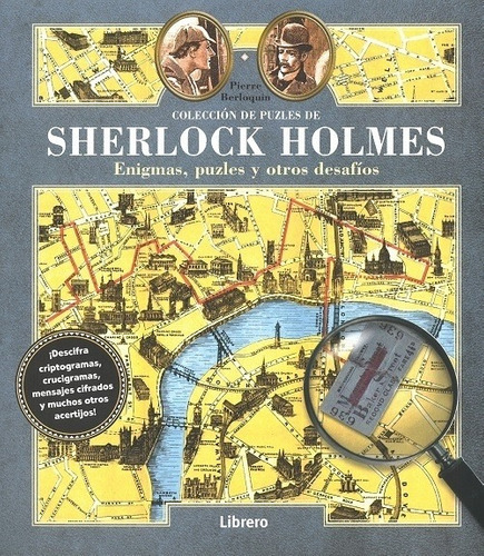 colección de puzzles sherlock holmes, berloquin, librero