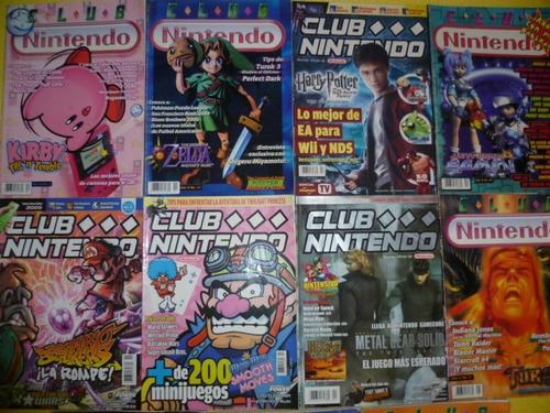 colección de revistas club nintendo
