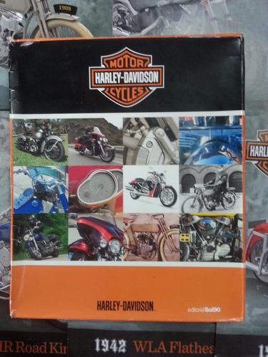 colección de revistas motor harley davidson cycles