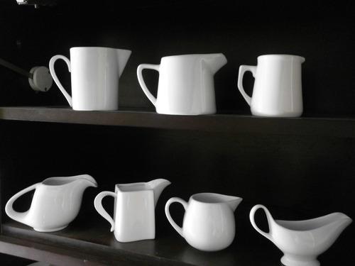 colección de siete jarras, jarritas, altura de la mayor: 9cm