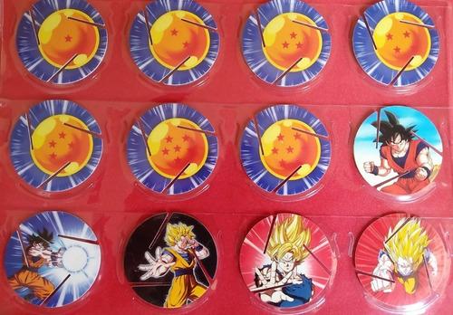 coleccion de taps tazos dragon ball z [cheetos]