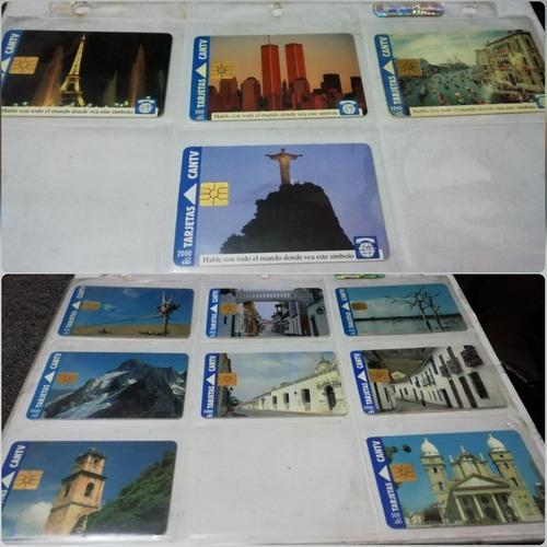 colección de tarjetas telefónicas