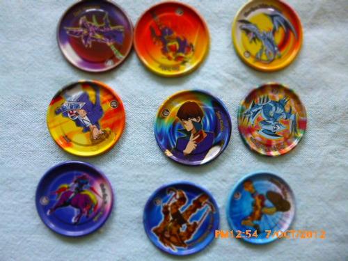 coleccion de tozos metaliz yu-gi oh