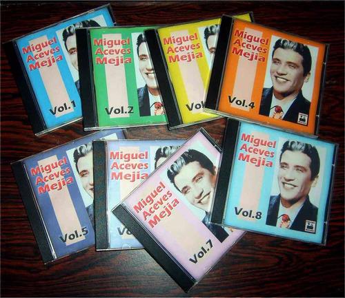 colección definitiva de miguel aceves mejia en 8 cds