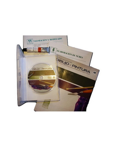 coleccion dibujo y pintura nro.18 + dvd + pomo oleo