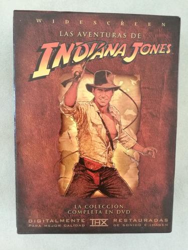 colección dvds indiana jones - primeras tres películas