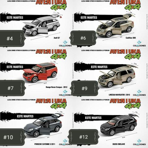 colección el comercio aventura 4x4 carros autos a escala