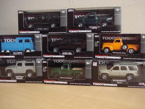 colección el comercio grandes vehiculos todo terreno(solo 9)