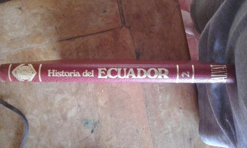 colección enciclopedia historia del ecuador
