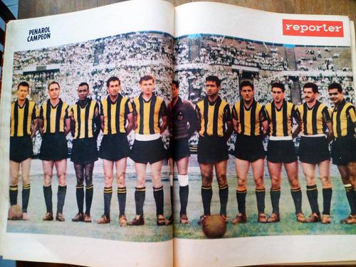 coleccion encuadernada revista reporter 1960 1961 futbol