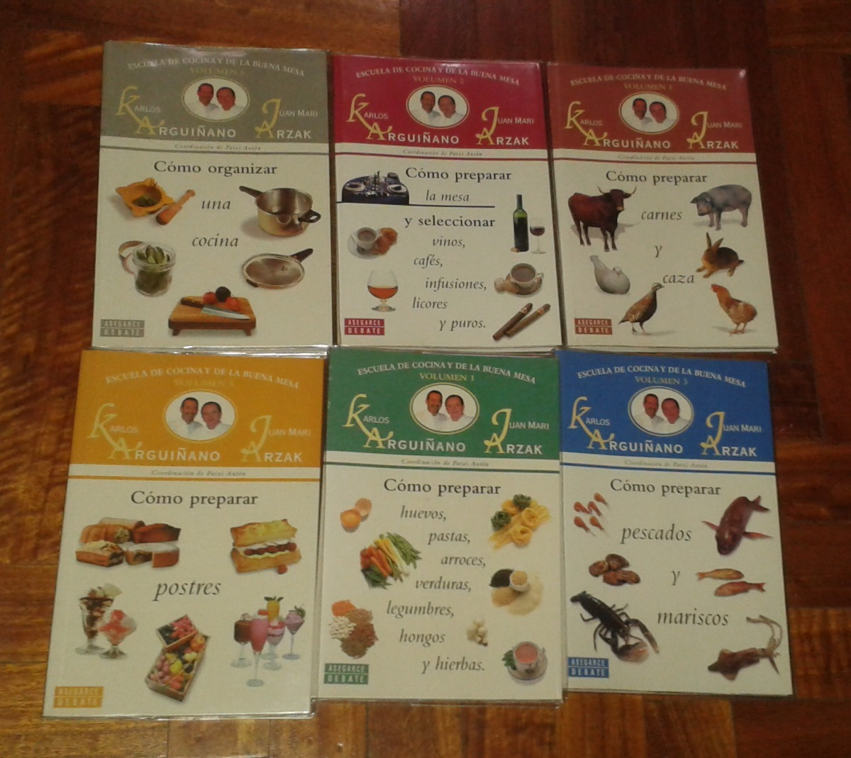 Colección Escuela De Cocina Y De La Buena Mesa