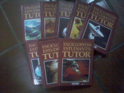 colección estudiantil tutor 8 tomos.