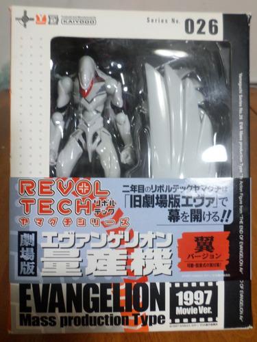 colección figuras (6) evangelion kaiyodo revoltech