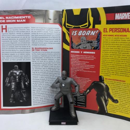 coleccion figuras de marvel especial nº 8 iron mark 1