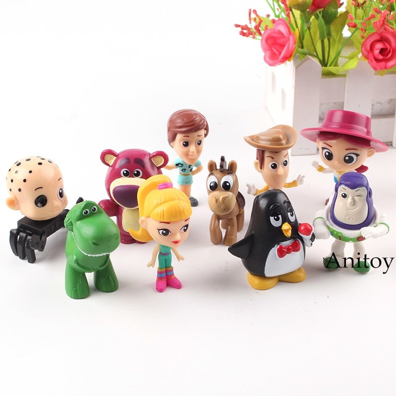 f02995757bc1b Toy Story Colección Set X10 Figuras Woody Buzz Lightyear -   28.900 ...
