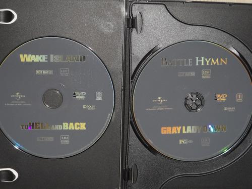 coleccion films guerra clasicos- 4 films- 2 discos
