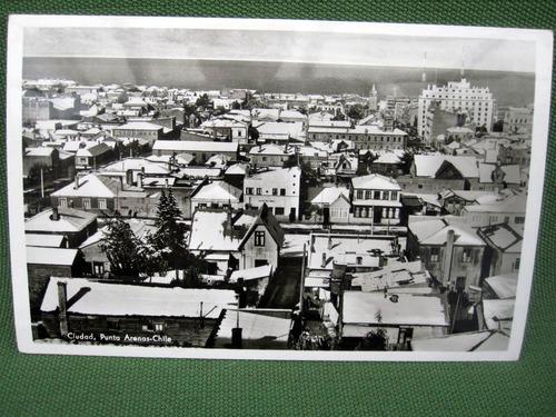 coleccion foto y postal punta arenas 13 unidades antiguas