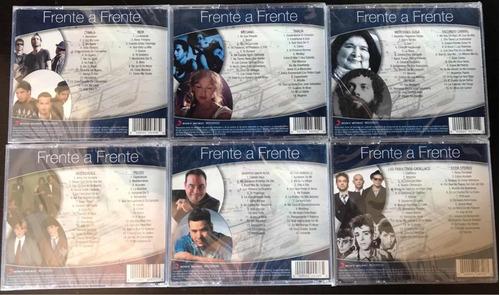 colección frente a frente - salsa, vallenato, pop