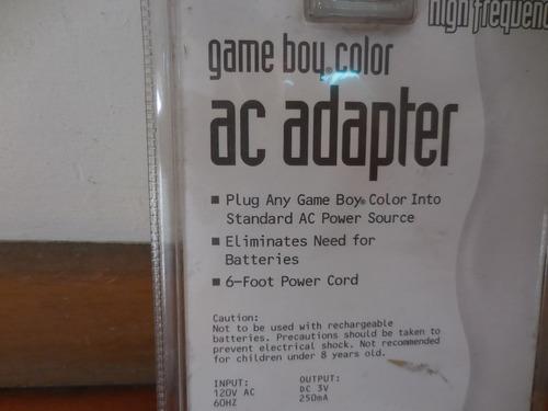 colección game boy color adaptador a c.