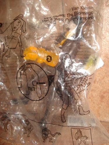 colección generator rex - van kleiss (bolsa) mc donalds 2012