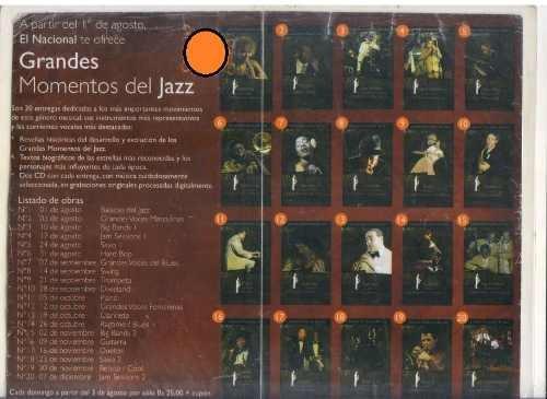 colección  grandes momentos del jazz