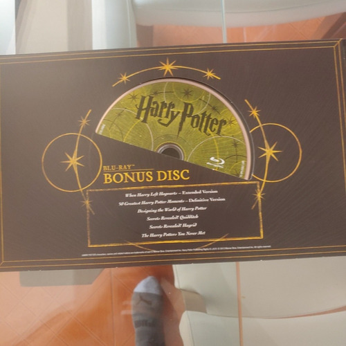 coleccion harry poter dvd bluray y extras edicion limitada