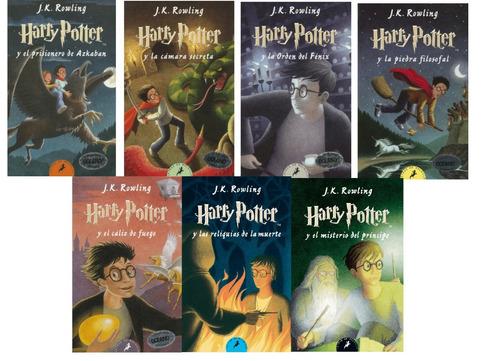 colección harry potter completa  + obsequio gratis