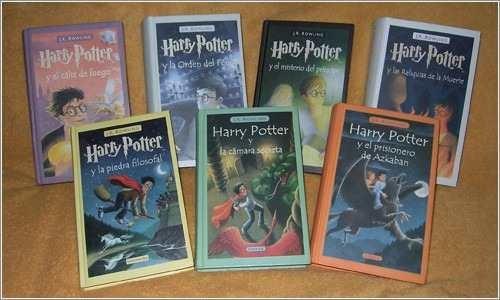 coleccion harry potter tapa dura en oferta! los 7 libros