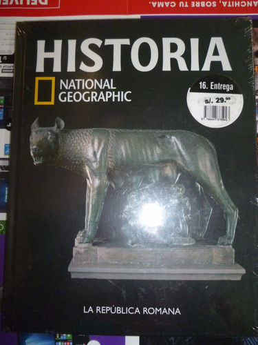 coleccion historia national geografic (la republica romana)