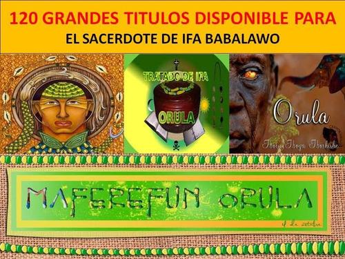 coleccion ifá para el babalawo 112 libros digital