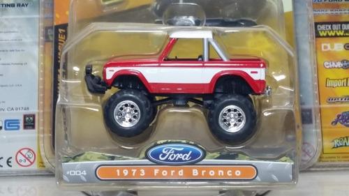 colección jada escala 1/64 1973 ford bronco