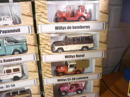 coleccion jeep 12 modelos diferentes escala 1/43 c/revistas