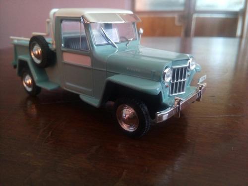 colección jeep ika willys baqueano