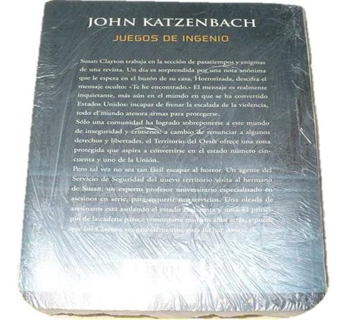 colección john katzenbach 2 libros
