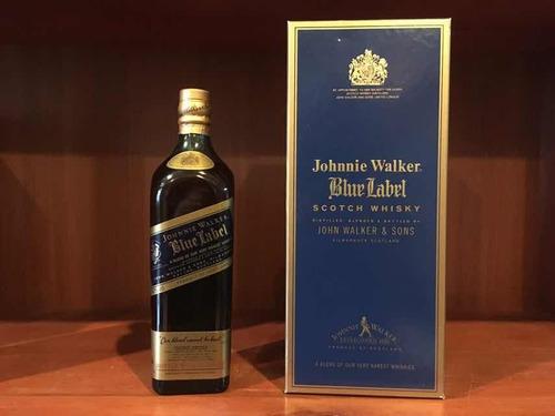colección johnnie walker blue label 80s