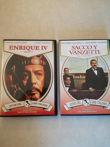 colección joyas clásicas cine italiano 7 dvd originales